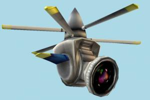 Heli-Cam camera, drone, helicopter, electronic, electronics, lowpoly