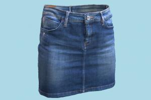 Jeans Mini Skirt jeans, skirt, pants, fashion, clothes, clothing, wears, female, fabric, miniskirt, blue
