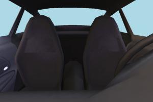 Car High-poly Car-Interior