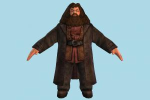 Rubeus Hagrid Rubeus-Hagrid, harry-potter, harry, potter, people, human, character, male, magician