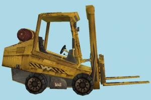 Forklift Truck forklift, fork-lift, fork-truck, construction, truck, vehicle, carriage, wagon