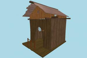 Cottage hut, cottage, shanty, shack, wooden, cabin, small, house, home, farm, country