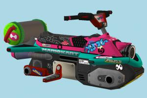 Splat Buggy Kart Mario-Kart, kart, cartoon, vehicle, car, carriage