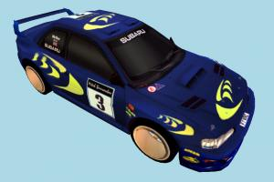 Subaru Racing Car subaru, racing, race, car, speed, fast, vehicle, carriage, truck