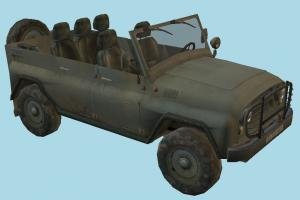 UAZ 469B Car jeep, car, vehicle, transport, carriage, 4x4, military, buggy, Russian, Soviet
