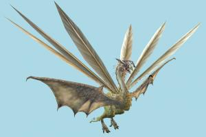 Dragon dragon, monster, bird, fantasy, animal, animals, cartoon