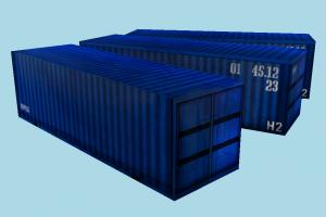 Shipping Containers shipping, containers, container, box, boxes, crates, crate, maritime, lowpoly