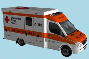 Medical Van van, vehicle, carriage, car, bus, airport, mercedes, kreuz, hannover, rotes, resque, rettungsdienst, car, medical