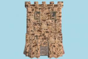Tower castle, tower, stronghold, building, build, internal, structure