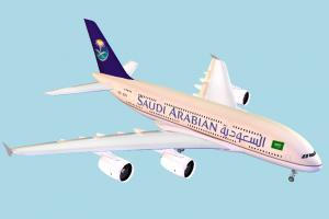 Airplane airbus, airliner, plane, airplane, aircraft, air, liner, craft, saudi, vessel
