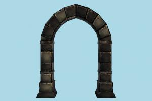 Gate gate, door, entry, structure, wall, dungeon