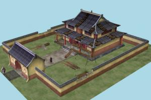 Town bsp, town, city, castle, house, building, build, map, structure