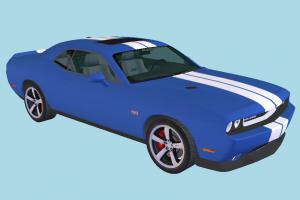 Dodge Challenger Car Dodge-Challenger, car, vehicle, transport, carriage
