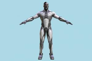 Cyborg marvel, super, hero, man, male, people, human, character, robot