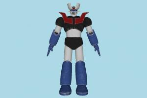 Mazinger Z grendizer, robot, robotic, iron, super, hero, character, cartoon