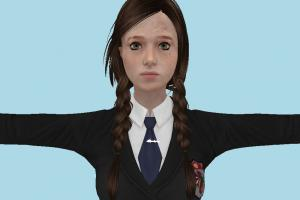 The Last Of Us - Ellie School Girl