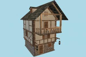 Barrack House house, home, building, large, wooden, build, apartment, flat, residence, domicile, structure