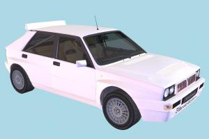 Lancia Car Lancia-Delta, Lancia, car, vehicle, transport, carriage, jeep
