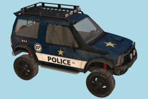 Offorad Police offroad, police-car, police, hummer, car, truck, vehicle, carriage, transport