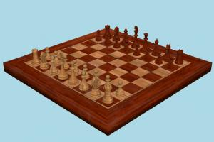 Chess Set chess, boardgame, board, game, set, play, fun