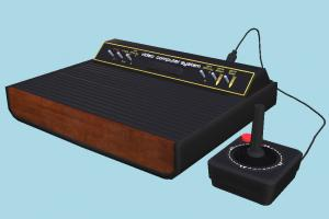 Atari 2600 arcade, atari, console, playstation, gaming, videogame, computer, vintage, retro, portable, nintendo, electronics, play, entertainment, game, fun, old, technology, industrial, device