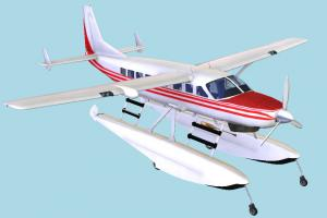 Water Plane waterplane, water-plane, aircraft, airplane, plane, craft, air, water, boat, sea, vessel