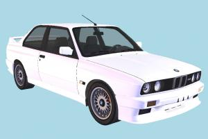 BMW M3 Car bmw, car, vehicle, transport, carriage, white