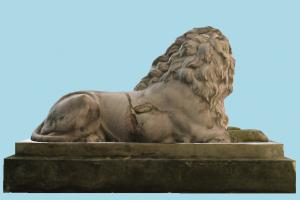 Lion Sculpture Statue