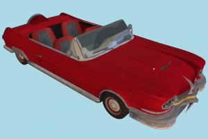 Convertible Car Convertible, Enzo, Bayonetta, Car, vehicle, truck, carriage, old, red