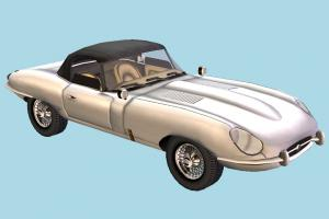 E-Type Car E-Type, jaguar, car, vehicle, savage, interior, truck, transport, carriage