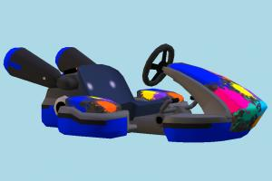 Inkling Kart Mario-Kart, kart, cartoon, vehicle, car, carriage