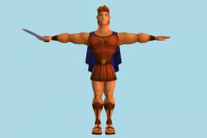 Hercules disney, male, soilder, man, people, human, character, cartoon