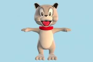 Tyke tom-and-jerry, animal-character, character, cartoon, dog, puppy, animal