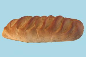 Bread bread, cake, sweets, food, delicious, baked, breakfast, bakery, viennoiserie, viennoise, scanned