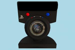 PS3 Camera playstation, ps3, ps4, camera, tracker, eye, track, control, motion, electronics, objects
