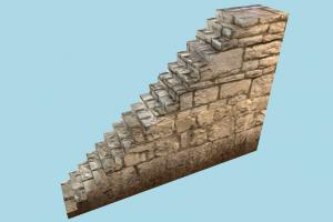 Wall Stairs stair, stronghold, castle, tower, build, structure