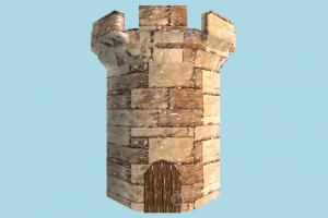 Tower stronghold, tower, build, structure