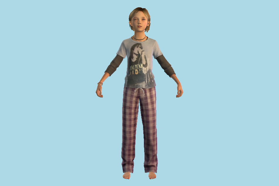 The Last Of Us - Sarah Girl 3d model