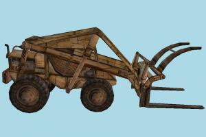 ForkLift forklift, fork-lift, fork-truck, construction, digger, wood, truck, tractor, vehicle, carriage, wagon
