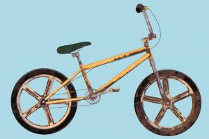 Dirty Bicycle bicycle, bmx, bike, dirty, biking, sport, 80s