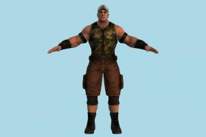 John Cena Soldier army-man, soldier, army, man, male, people, human, character