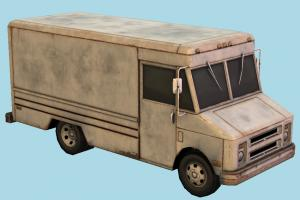 Truck van, truck, rusty, car, vehicle, carriage, 1980, old, 1970