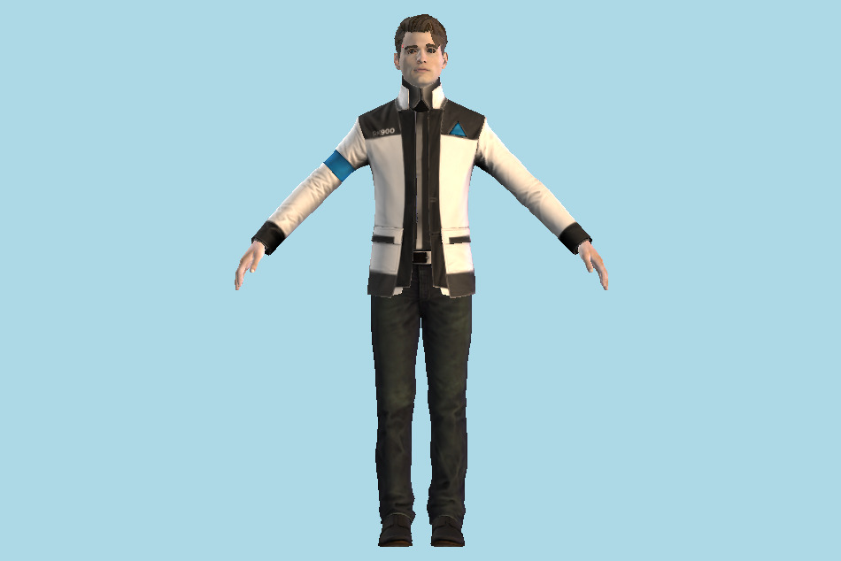 Detroit RK900 Become Human Connor 3d model
