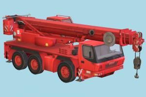 Truck car, truck, vehicle, carriage, transport, constructor