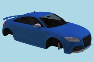 Audi TT RS 2012 car-body, car-parts, no-wheels, Audi, TTRS, car, 2012, vehicle, transport, carriage, parts