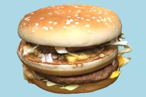 Burger hamburger, burger, fastfood, fast, food, sandwich, dinner, lunch, mcdonalds, meal, big, meat, fat, scanned