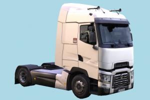Renault Truck truck, heavy, semi, renault, t-series, industrial, vehicle, carriage