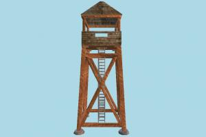 Tower tower, guard, lighthouse, wooden, house, build, structure
