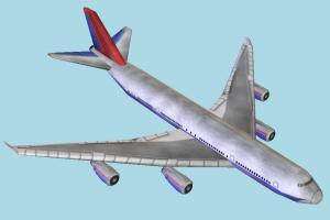 Airbus airbus, airliner, plane, airplane, aircraft, air, liner, craft, vessel, lowpoly