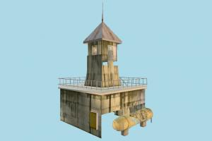 Guard Tower lighthouse, tower, beacon, castle, build, structure